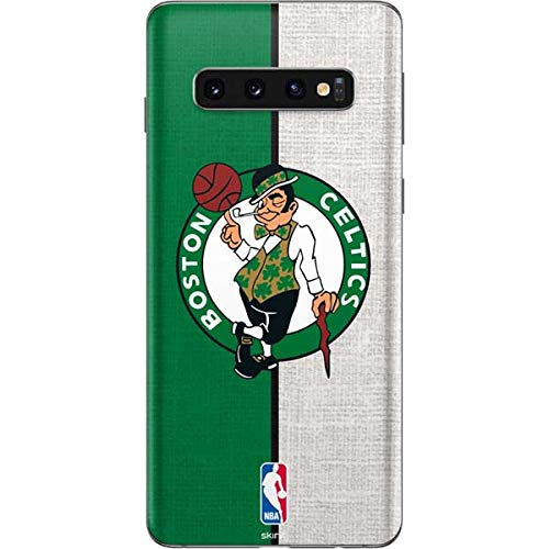 Amazon com: Skinit Boston Celtics Canvas Galaxy S10 Skin