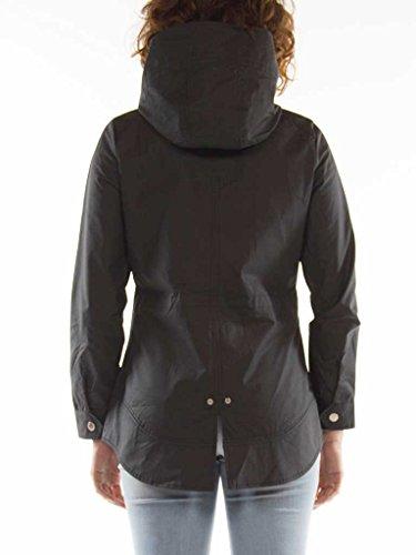 Manche Longue Carrera Noir Pour Tissu Unie 899 Imperméable Femme Couleur Normale Parka 482 Jeans Taille wqPwCZR