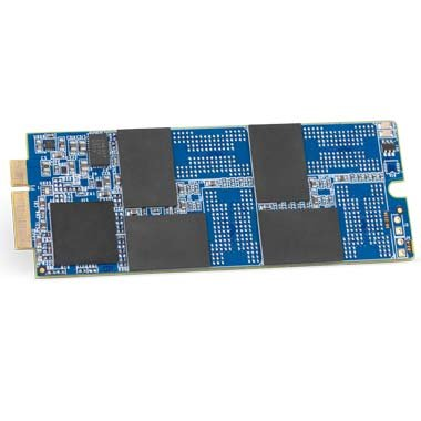 OWC 480GB Aura 6G Solid-State Drive for 2012-2013 MacBook Pro with Retina display.