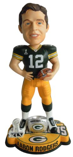 NFL Aaron Rodgers Green Bay Packers Super Bowl XLV for sale  Delivered anywhere in USA