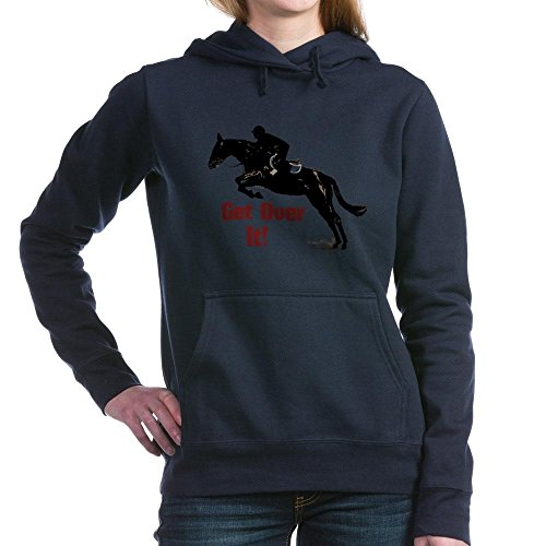 CafePress Get Over It Horse Jumpe - Pullover Hoodie, Clas...
