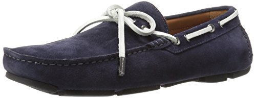 Bruno Magli Mens Morotta Slip-on Loafer Marinen Mocka