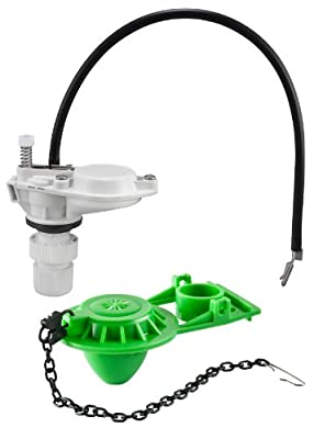 Keeney K831-1 Toilet Tank Repair Kit - Mini Pilot Non Anti-Siphon, Grey, Green