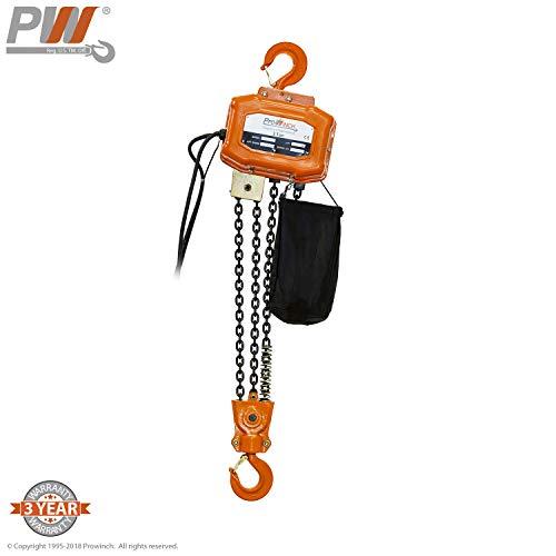 3 Ton Electric Chain Hoist 20 ft. FEC G80 Japan Chain M3/H2 110/220V