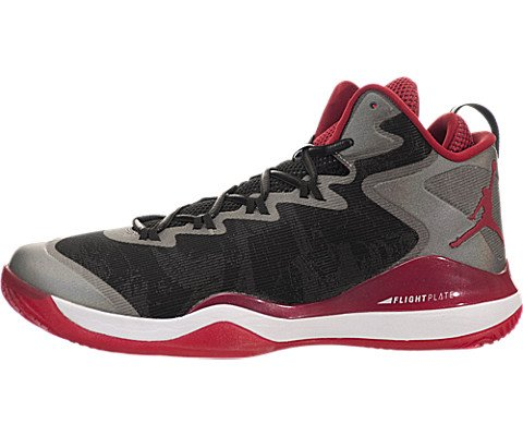 Nike Slam Dunks (Jordan Mens Super.Fly 3 x Slam Dunk Black/White/Varsity Red 718154-005 9.5)