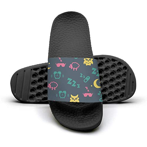 Sandals on Sandals Slipper Beach barn Owl Sleep Ladies and Slip Flamingo Comfort owl Anti Night Slip Shower and Womens RYZqnHx