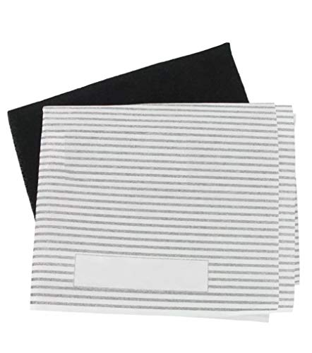 2 X Universal Cooker Hood Extractor Fan Grease Filter Paper Cut To Size Filters