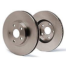 Rear Premium OE Blank Rotors SY078542 | Fits: 2014 14 2015 15 2016 16 Toyota Venza