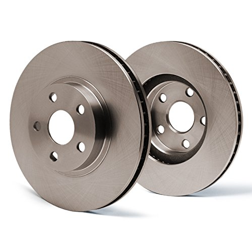 Series Rotors Premium Brake Kit SY009741 | Fits: 2001 01 2002 02 VW Jetta Wagon GLS Turbo/GLS VR6 / GLX 288mm Dia Front Rotor ()