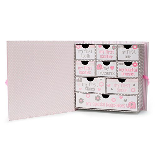 Baby Milestone Keepsake Storage Box: Track Treasured Memories   Love Tri Coastal  Design