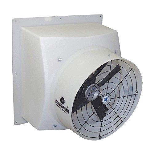 Agricultural Exhaust Fan - SCHAEFER GPFM2405-3A Exh Fan Agricultural Exhaust Fan, Direct Drive,