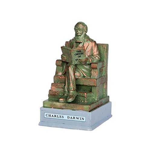 Lemax Village Collection Charles Darwin Park Statue #64074 ()
