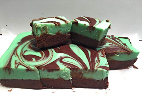Uncle Butch's Mint Chocolate Swirl Fudge One Half Pound