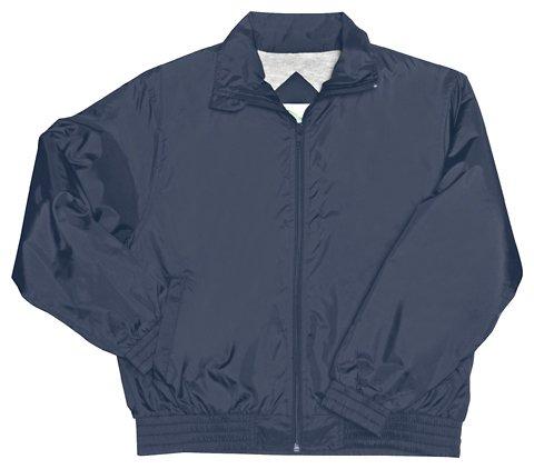 Girls Zip Front Bomber Jacket by Classr- Sku:CherokeeSchool53062NAVYM; Color:NAVY; Size:M M