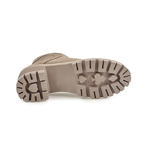 Slip Urethane Boots Womens Resistant Platform ABL09945 Comfort Khaki BalaMasa SqxFwfn71O