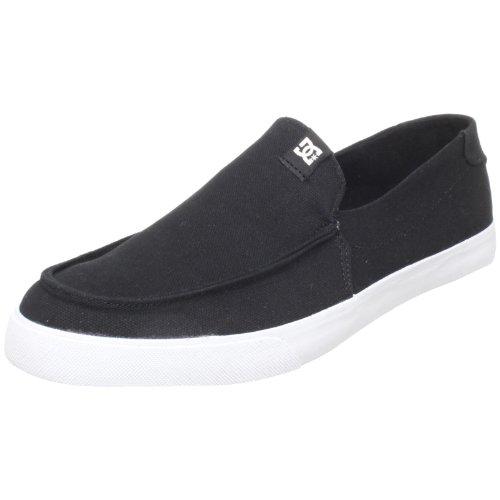DC Men's Villain V TX Casual Shoe,Black/White,12 M US