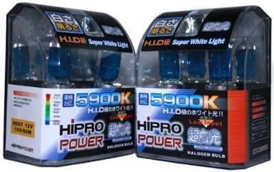 Hipro Power 9006 5900K 100 Watt Super White Xenon HID Fog Light Bulbs