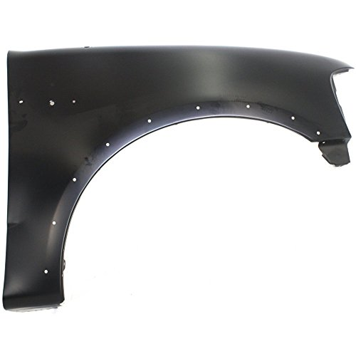 (Evan-Fischer EVA16972011814 Fender for Ford F-Series 97-04 RH W/Wheel Opening Molding Holes Front Right Side)