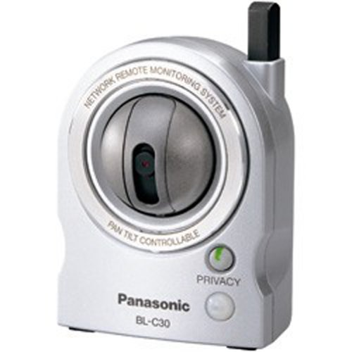 Network Panasonic Server Camera (Panasonic Wireless 802.11 b/g Network Camera and Pet Cam (BL-C30A))