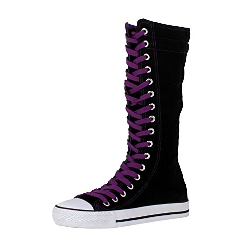 Canvas Womens Boots - 5