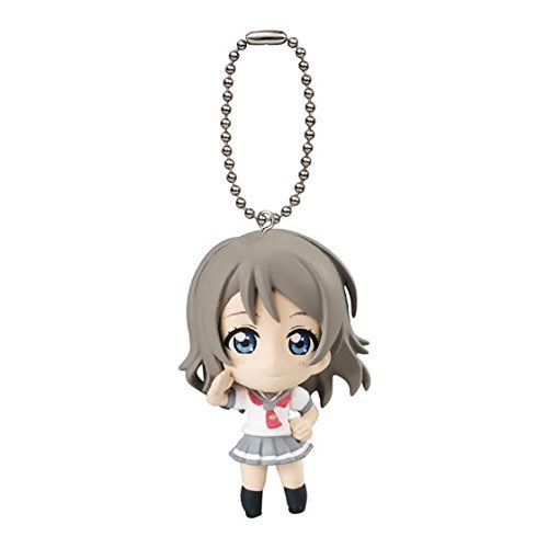 Love Live Sunshine You Watanabe in Uranohoshi School Uniform Costume Gashapon Capsule Key Chain Mini Figure Mascot 1.5inch Vol.01 Anime Art