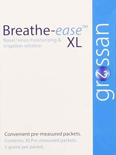 Grossan Breathe-Easexl Nasal Sinus Irrigation Packets, 30 Count