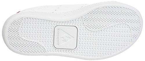 Le Coq Sportif Courtone PS S Lea, Entrenadores Bajos Unisex Niños Blanco (Optical White/vintage)