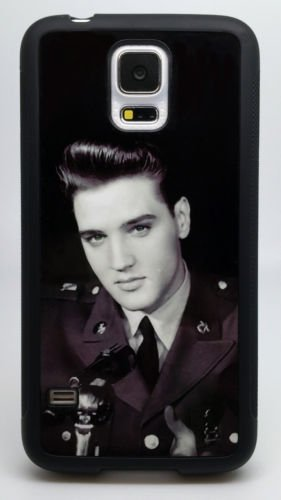 YOUNG ELVIS BLACK AND WHITE iphone case