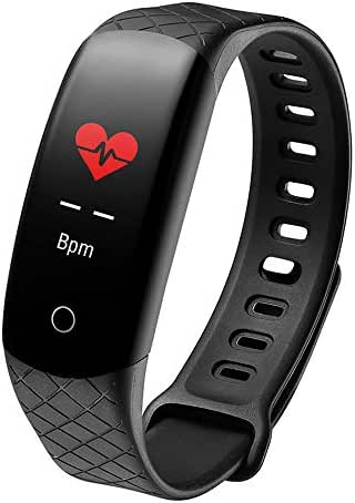 Fitness Tracker for Kids, Waterproof Fitness Tracker with Heart Rate Monitor Bluetooth Running Smart Bracelet with Health Sleep Activity Tracker Pedometer Compatible Android Phone iOS Phones