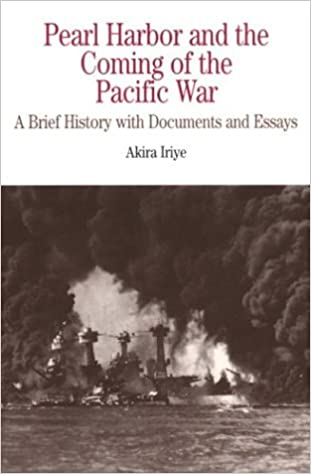 com pearl harbor and the coming of the pacific war a  pearl harbor and the coming of the pacific war a brief history documents and essays the bedford series in history and culture 65079th edition