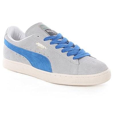 ef1d301e2f Puma Suede VNTG Vintage Herren Sneaker Schuhe Leder grau 353549 01,  Schuhgröße:36 EU