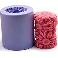 Flower Candle Mold Silicone Soap Mold Candle Mould