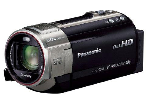 Panasonic Digital High-Vision Camcorder 64GB Black HC-V720M-K (Japan model) (Panasonic V720 compare prices)