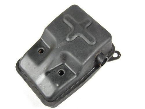 (PCC Motor 2 Stroke Muffler Port Exhaust Mini Pocket Moped Scooter EX29)
