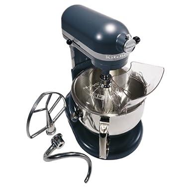 KitchenAid KP26M1XBS Professional 600 Series 6-Quart Stand Mixer, Blue Steel