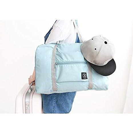 Ywillink Packable Travel Duffel Bag Foldable Waterproof Carry Storage Luggage Tote