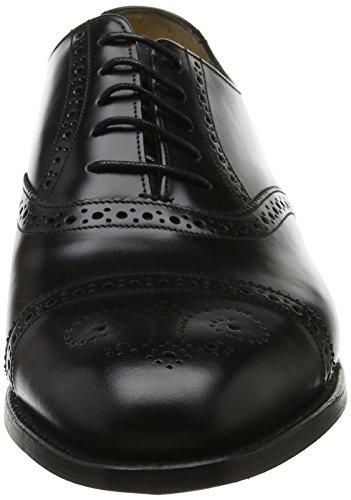 Oxford black Alfred Scarpe Uomo Hi Barker shine Stringate Nero 37 P1tRxqwn