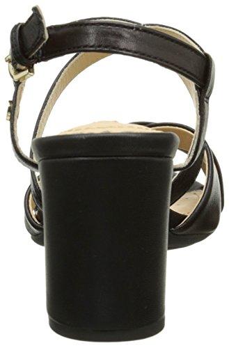 Nesa blackc9999 C Femme Geox Sandales Noir SYRRnx