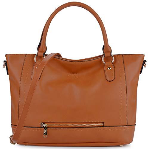 COOFIT Womens Handbag PU Leather Handbags Ladies Shoulder Bag Crossbody Handbags