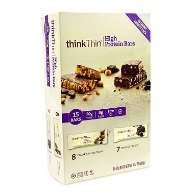 thinkThin High Protein Plant-Based Bars