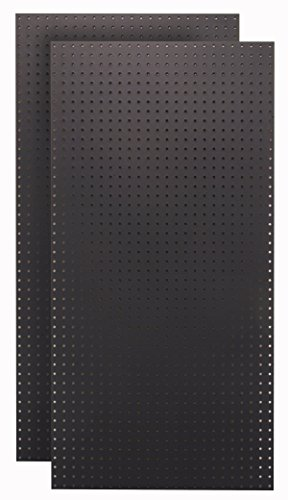 Triton Products HDB-2 (2) Black Hdf Pegboards by Triton 2