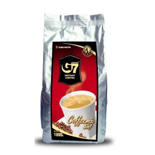 G7 3-in-1 Moment Premium Vietnamese Coffee, 100 Servings/Sachets (1000 grams Coffee Bag)