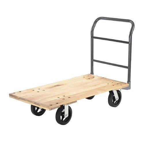 Platform Truck w/Hardwood Deck, 72 x 36, 2400 Lb. Capacity, 8