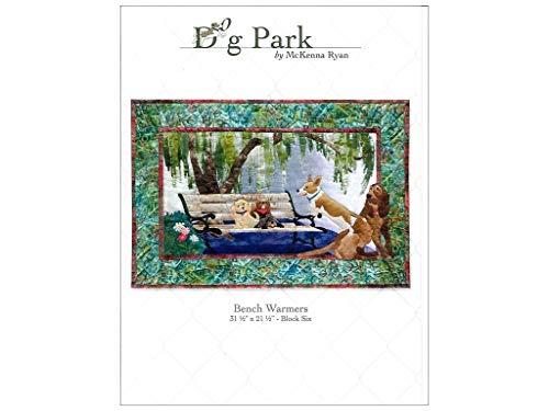 PineNeedles by McKenna Ryan - DOG PARK Patterns DG06 Bench Warmers Pattern