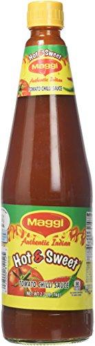 - Maggi, Hot & Sweet Tomato Chilli Sauce, 1 Kilogram(kg)