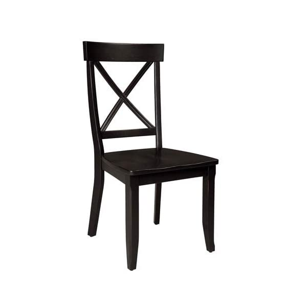 Home Styles 5178-802 Classic Pair of Dining Chairs, 18-4/5