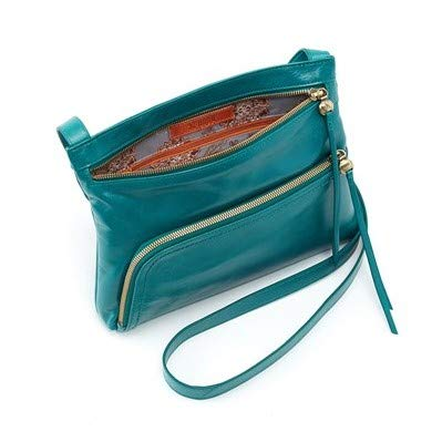 Hobo Womens Genuine Leather Vintage Cassie Crossbody Bag (Bluegrass)
