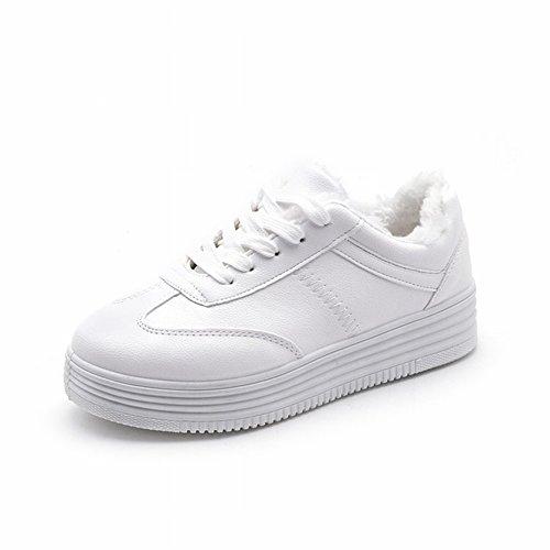 Estudiantes Femeninos Más Zapatos de Cachemira Zapatos de Mujer Zapatos Zapatos Deportivos de Ocio , blanco , EUR36.5