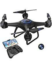 $59 » AKASO A31 1080P Drone with Camera for Adults, Full HD FPV Live Video RC Quadcopter Drone, Altitude Hold, Circle Fly,Headless Mode, Easy to Use for Beginners,Boys & Girls