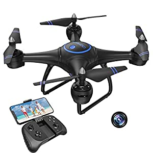 Flashandfocus.com 41BE7yAKQLL._SS300_ AKASO A31 1080P Drone with Camera for Adults, Full HD FPV Live Video RC Quadcopter Drone, Altitude Hold, Circle Fly…